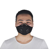 Wholesale red mouth mask resale online - Outdoor Sport Bicycle Riding Cycling Anti Dust Motorcycle ATV Ski Half Face Mask Filter Dustproof Mouth muffle Black Red Blue