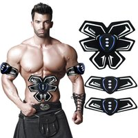 Wholesale Belly Belt For Men - SHENGMI EMS Abs Trainer Abdominal Toning Belts Muscle Toner Gym Workout And Home Fitness Apparatus For Men Women