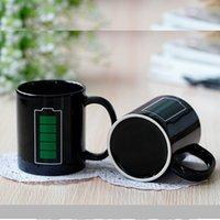 ingrosso colore della batteria magica-Mug Mug Cambiare colore Pubblicità Creativity Cup Energy Magic Mugs Ceramiche interessanti Bere tazze Personality High Quality Hot 8yr