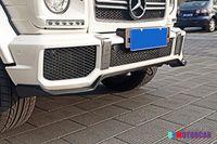 Wholesale Amg Spoiler - M Style Carbon fiber Anterior lip Front Lip spoiler Fit For Benz W463 G-Class G63 G65