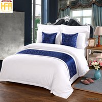 Wholesale Simple Fashion Stylish - 50*180Cm New Arrival Bed Runner Bedding Set Brief Runners Bed Cover Modern Fashion Simple And Stylish Bedding Set Bedrunner Blue Color