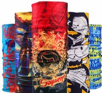 2017 Nouvelle mode Bandana Skull Seamless Hiphop Hijab Bandanas Écharpe Casquette Magic Headband Neck Tube Ring Shawl Wrap 77