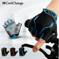 Wholesale Women Gel Cycling Gloves - Anti-shock Gel Summer MTB Half Finger Cycling Gloves Mens Breathable Outdoor Professional Road Gloves Mountain Nylon Bike Bicycle Gloves