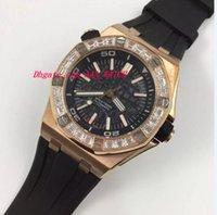 Wholesale Diamond Offshore - Luxury Wristwatch Offshore Diamond Bezel BC.ZZ.D002CR.01 Rubber Bracelet Mechanical Men Watches Top Quality