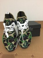 Wholesale Size 45 Mens Shoes - [With box] nmd xr1 green camo nmds runner shoes for Mens Womens BATHING BA7326 Real Boost CAMO Green NMD_XR1 Camo NMD size 36-45