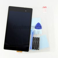 Wholesale Nexus Fhd - Wholesale-New Original 2013 Full LCD Display+Touch Screen Digitizer Assembly repair part For Asus Google Nexus 7 FHD 2nd Gen+ tools