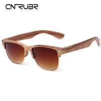 Wholesale Mix Match Vintage - Wholesale-CURNBR European Fashionall-Match Wood Sunglasses Female Sunglasses Vintage Retro Designer Fashion Sunglass Men Retro Glasses