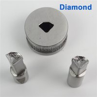 Wholesale Diamond Mould - Diamond Tablet press Die Mold  Pill Press Mold Punch Die Mould for Single Punch Pill Press Machine TDP-0 1.5T(9.5X7mm)