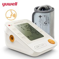Wholesale pressure arm - yuwell YE670D blood pressure monitor watch automatic sphygmomanometer tensiometro digital arm blood pressure meter tonometer CE