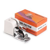 Quilt Fabric overlock machines - 1Pcs Side Cutter Overlock Sewing Machine Presser Foot Feet Sewing Machine Attachment For All Low Shank Singer Janome Brother