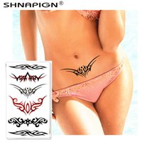 Wholesale Tattoos Lace Designs - Wholesale- Sexy Temporary Tattoo Body Art, Hot Lace Arts Designs, Flash Tattoo Sticker Keep 3-5 days Waterproof 10*17cm