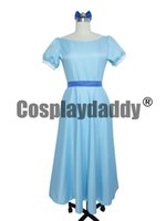 Peter Pan Cosplay Kaufen -Film Peter Pan Wendy Rachael Cosplay Kostüm Partykleid Frauen Langes Kleid