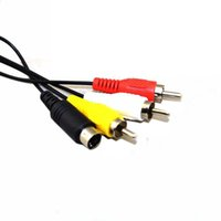 Wholesale Hot Saled feet M Audio Cable to RCA For sony PlayStation for PS PS2 PS3 Video AV