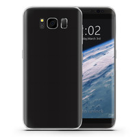 Wholesale Wholesale Glass Store Front - Fingerprint Scanner Goophone S8 V2 Touch ID 3G WCDMA 5.5 inch IPS 1280*720 HD Android 7.0 GPS 12MP Camera Metal Frame Dual Glass Smartphone
