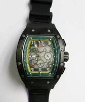 Wholesale Bronze Blanks - New luxury watchs flower head watch blank silicone hollow Automatic machinery watch men watch