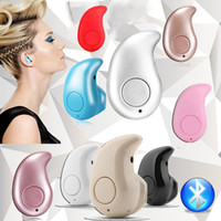 Wholesale Smallest Bluetooth For Ears - Ultra Smallest S530 Mini Wireless Bluetooth V4.0 Earphone Headphones In-Ear Headset With Microphone for iphone X 8 7note8 For All CellPhone