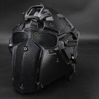 Wholesale tactical helmets for sale - Group buy WoSporT New outdoor tool Airsoft Paintball Tactical Helmet Protective Helmet CS equipment hunting accessory colors
