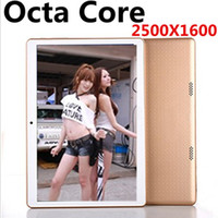 Wholesale Charge Card Android - NEW 9.7 inch 8 core Tablet PC Octa Cores 2560*1600 IPS DDR 4GB ram 64GB 8.0MP WIFI 4G Dual sim card Wcdma+GSM Tablets pcs Android 5.1 OTG