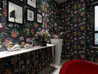 Wholesale Korean Wedding Fashion Design - Europe flower pattern design wallpaper countryside style wall paper roll fashion modern flower wall covering for living room background