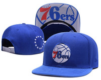 2017 venta al por mayor PHILADELPHIA Snapback Baseball Snapbacks 76ERS baloncesto Snap Back Hats Mujeres para hombre Gorras planas Hip Hop Caps Cheap Sports Hats