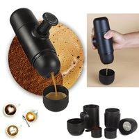 Wholesale Quality Coffee Machines - high quality Mini Coffee Makers EU USA PBT Portable Hand Pressure Manual Coffee Powder Espresso Machine Have Stock WX-C13