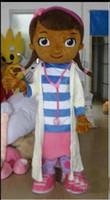 Wholesale Doctor Mascot Costumes - Easte Dottie McStuffins mascot costume Doctor McStuffins Mascot Costume doc mcstuffins Adult Size Classic Party Costumes Fancy Dress Suit