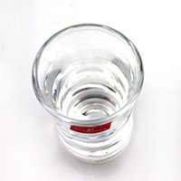 Wholesale Material Wholesalers China - glass small glass white wine cups 40ml thick bottom flat cup 77g high white material glass KTY1501