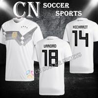 da193b519 Soccer Men Short 2018 Germany soccer jersey world cup Away Home OZIL MULLER  GOTZE HUMMELS KROOS