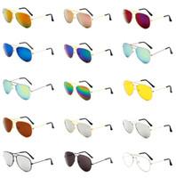 8671b0d509e72 Atacado 50 pcs piloto polarizado homens óculos de sol barato homem  motorista designer de moda moldura de ouro do vintage menwomen óculos de  sol uv400 ...