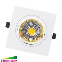 Wholesale Dimmable Cob Led Ceiling Light - Super Bright 9W 12W 15W 20W Recessed COB LED Ceiling Lights Dimmable LED Ceiling Light Downlights