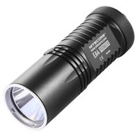 Wholesale U2 Aa Flashlight - NITECORE EA4W Neutral White Light 5 modes 860Lm XM-L U2 led light lamp Flashlight AA torch+protective cover+Hand Strap+manual