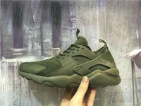 Wholesale White Lycra Sale - 2016 Top quality HUARACHE 4 Mens Womens Running Shoes Cheap Sale Airs Huaraches Mens Fashion Outdoor Sports Jogging Sneakers Size 36-45
