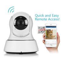 Wholesale Cctv Wireless Cmos Camera - SANNCE Home Security Wireless Mini IP Camera Surveillance Camera Wifi 720P Night Vision CCTV Camera Baby Monitor