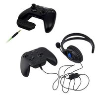 Wholesale Gaming Accessories - Gamepad Stereo Headset Headphone Audio Gaming Adapter For Microsoft For Xbox One Controller Game Console Accessory