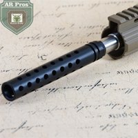 Wholesale Port Designs - 5.5 Inch Muzzle Brake .223 1 2x28UNEF Thread Multi Ports Mil-spec Xm177 Design Black Oxide