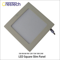 painéis led de escritório venda por atacado-Painel de LED light15W 18 W 23 W luzes LED Quadrado Redondo tipo de downlight Grelha para casa cozinha escritório commerical lâmpada