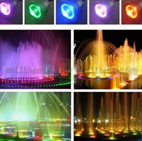 Wholesale Under Water Pool Lights - NEW 10W 1000lm led under water RGB Warm White White led pond Pool Spot Lamps 12V 24V lights 12V led underwater fountain light flash MYY