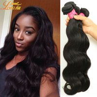 Wholesale brazilian remy hair price resale online - Mixed length inch Brazilian Virgin Human Hair Weave Remy Hair Body Wave Wet and Wavy A Qualified Price