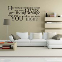 Oasis Champagne Supernova Lyrics Wall Stickers Removable Decals Bedroom  Sitting Room Wall Art Vinyl Decor DIY Price
