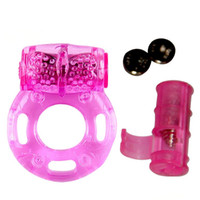 Wholesale Vibrator Ring Hot Product - Hot Sale Silicone Vibrating Penis Rings,Butterfly Ring ,Cock ring, Sex Toys for Men Vibrator Sex Products Adult Toys erotic toy vibrators