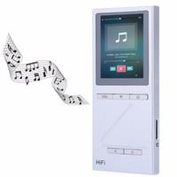 Wholesale Pocket Watch Displays - Wholesale- X5 Pocket HiFi Lossless Audio MP3 Player High Fidelity Sound 8G Storage Digital Display with Earphones