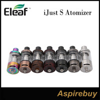 Eleaf iJust S Atomizer 4ML avec Nouveau CEL 0.18ohm Head Top E-juice Filling Raising the Bar pour Airflow pour Kit iJust S New Colors100% Genius
