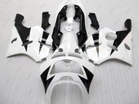 Wholesale 1994 Kawasaki Zx6r Fairing Kits - Full Body Kits 636 Zx-6r 96 97 ABS Fairing Ninja Zx-6r 1997 White Black Fairing Kits for Kawasaki Zx6r 1994 1994 - 1997