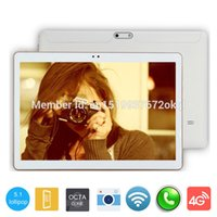 Wholesale Google Phone Calls - Wholesale- Google Play Android 5.1 10 inch 3G Phone Tablet 4GB RAM 32GB Octa Core 1280*800 IPS Screen 10 inch Tablet PC call phone tablets