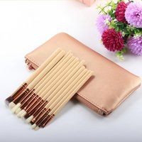 Wholesale nude eye shadow kits for sale - Group buy Makeup Brushes Cosmetics Brush brushes Tool lip kit liner Eye shadow Brushes Kit nude makeup set F20171220