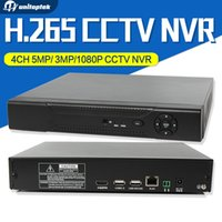 Wholesale Pc Control Dvr - 4CH H.265 CCTV NVR Max 4K HDMI Security Network Recorder 4CH 5MP 3MP 1080P Onvif NVR For IP Camera With Remote Control