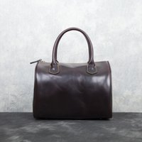 Wholesale Excellent Lady classic canvas and cowhide leather handbag tote