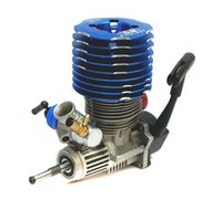 Wholesale Engine Sh - RC Blue SH 28 engine M28-P3 4.57CC Pull Starter Nitro 1 8 Buggy Monster Truggy