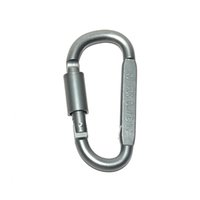 Wholesale D Type Car - High Quality Bold Locking Type D S Quickdraw Carabiner Buckle Hanging Aluminum Nut Backpack Buckle Camping Equipment
