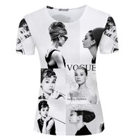 Wholesale Large Women Sexy Tee Shirts - Wholesale- Funny Women Leisure Tee Shirt Large Size Ladies t-shirts Sexy Female T Shirts Breathable O Neck Short Sleeve Plus Size S-3XL